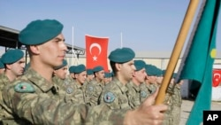 Pasukan Turki yang bertugas di Kabul, Afghanistan (foto: dok).