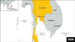 Peta Thailand (Foto: dok).