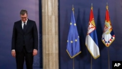 ARHIVA - Predsednik Srbije Aleksandar Vučić u novemebru 2018. (Foti: AP/Darko Vojinović)