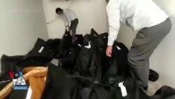 فیلمی منتسب به جنازههای جانباختگان کرونا و جابهجایی کیسههای اجساد بدون تجهیزات ایمنی