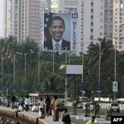 Dobrodošlica američkom predsedniku u Mumbaju, Indiji