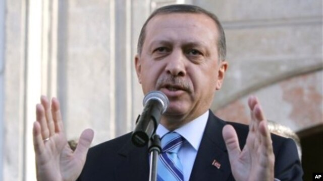 Turkish Prime Minister Recep Tayyip Erdogan (file photo)
