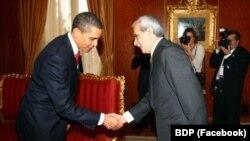 Obama û Ahmet Turk