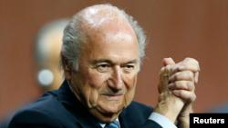 제프 블라터 FIFA 회장 (자료사진)