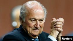 Presiden FIFA yang akan segera mengundurkan diri, Sepp Blatter (foto: dok).