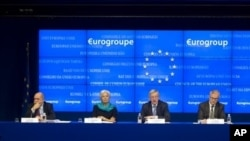 Eurogroup finance ministers, Brussels, Nov. 27, 2012.