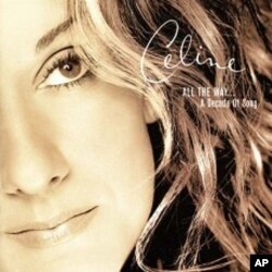 Celine Dion's 'All The Way' CD