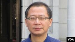 台灣在野黨國民黨立委吳志揚(美國之音張永泰拍攝)