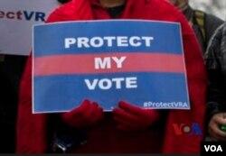 南部幾個州和其他一些州人民要求投票權