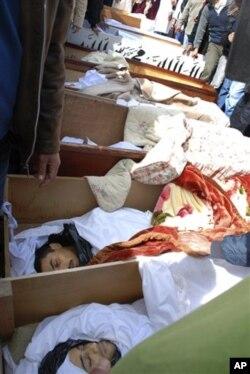 Mortos durante a carga das forças de segurança sobre manifestantes na Líbia