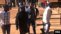FILE: Civil society leaders facing renewed state repression in Zimbabwe.