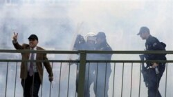 تیراندازی پلیس ترکیه به سوی تظاهر کنندگان کرد