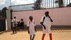 Alunos em Malanje, Angola