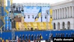 Празднование Дня независимости в Украине