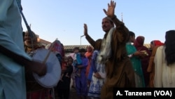 Legend says the daily ritual of beating large drums at sunset and dancing to the beat has been going on for 700 years in Sindh, Pakistan.