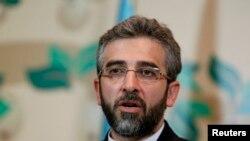 Perunding Iran Ali Bagheri menyarankan upaya bertahap untuk pencabutan sanksi atas program nuklir Iran (Foto: dok).