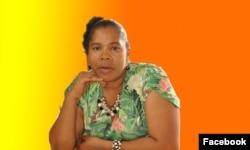 Pastora Celeste de Brito. Angola