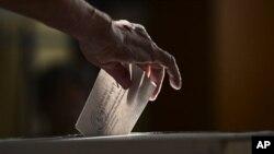 Glasanje na referendumu u Rumuniji