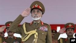 Sultanê Omanê Qabûs bin Saîd