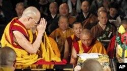 達賴喇嘛在日本 (資料照片)