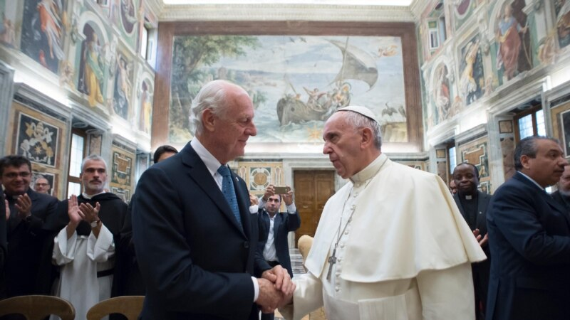 Pope Urges Greater Efforts for Peace in the Middle East