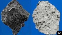 Os pedaços do meteorito pesavam seis quilos e 800 gramas