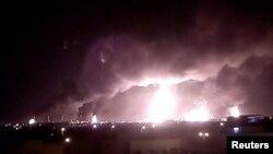 Səudiyyə Ərəbistanı neft obyektlərinə hücumlarda İranı ittiham edir.