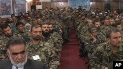 مقام افغان:'لازم است قوای امنیتی از لحاظ جسمی وروحی آمادگی داشته باشند'