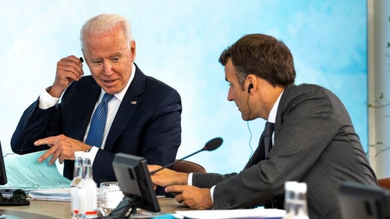 Білий дім повідомив про розмову Байдена та Макрона: посол Франції повертається до США