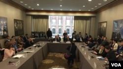 El grupo resolvió reunirse de nuevo en 60 días en Canadá, dijo el canciller chileno Heraldo Muñoz en rueda de prensa.