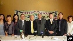 美国台湾移民支持维吾尔人权