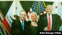 Erbil Gunasti, Daphne Barak ve Donald Trump