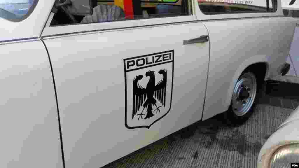 Полицейский «Трабант»