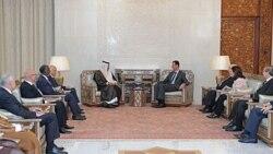 بشار اسد با مقامات عرب ملاقات می کند