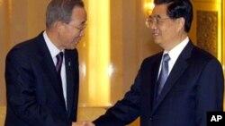 چین میں انسانی حقوق پر بات چیت، بان کی مون کا دفاع