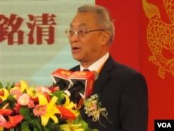 大陆海协会副会长张铭清(美国之音张永泰拍摄)