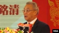 大陸海協會副會長張銘清(美國之音張永泰拍攝)