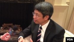 Hong Kong Commissioner for Economic and Trade Affairs Clement Leung (Photo: VOA)