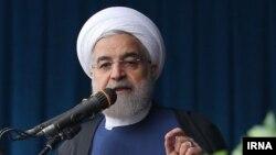 د ایران جمهور رئیس حسن روحان