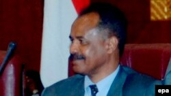 Le président érythréen Issaias Afeworki à Khartoum , Soudan, le 12 novembre 2008.