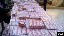 Dumbin kwalayen kwayar Tramadhol da aka kama a Jamhuriyar Nijar. 12-08/18 Sule Mumuni Barma