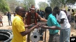Projecto agricola , Namibe, Angola