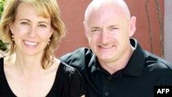 Dân biểu Hoa Kỳ Gabrielle Giffords và phu quân Mark Kelly
