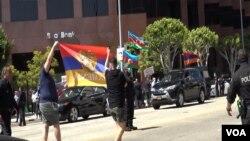 LA Armenian protest