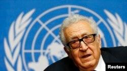聯合國-阿拉伯聯盟和平特使卜拉希米 (資料照片)