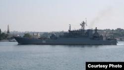 Большой десантный корабль «Ямал». Аналогичный корабль, БДК «Новочеркасск», напрaвляется в Тартус. Фото courtesy Wikimedia.org/koshkinss
