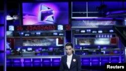 """""""რუსთავი 2""""-ის სტუდია, 2 ოქტომბერი, 2015"""