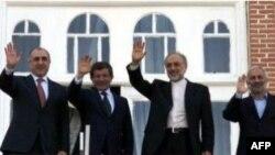 Azərbaycan, Türkiyə və İran xarici işlər nazirləri Urmiyada görüşüb