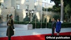 Zakir Həsənov və Tinatin Xidaşeli
