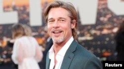 """El actor Brad Pitt en la premiere de """"Once upon a time In Hollywood"""", en Los Angeles, California. 22-7-19. REUTERS/Mario Anzuoni."""